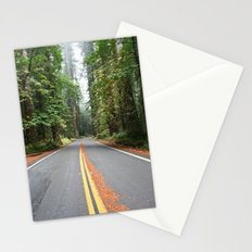 Avenue Of The Giants Stationery Cards