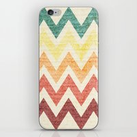 Summer Chevron iPhone & iPod Skin