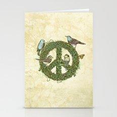 Peace Talks Stationery Cards