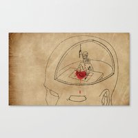 I Live Like A Hermit In … Canvas Print
