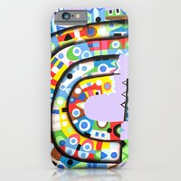 iPhone & iPod Case featuring The steamer by Rudolf Brancovsky