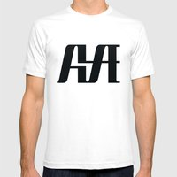 Hype Mens Fitted Tee White SMALL