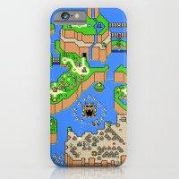 Mario World iPhone 6 Slim Case