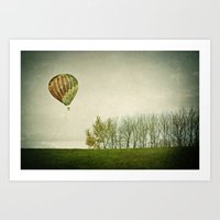 Letting Go Art Print