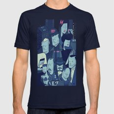 Blade Runner Mens Fitted Tee Navy SMALL