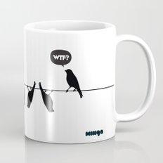 WTF? Bird Mug