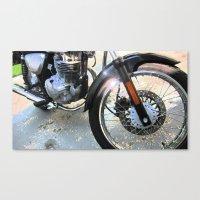 Suzuki Tu250x Canvas Print