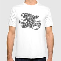 Live Fast Die Young - Bl… Mens Fitted Tee White SMALL