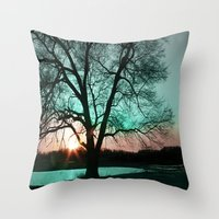 :: There's Always Tomorrow :: Throw Pillow