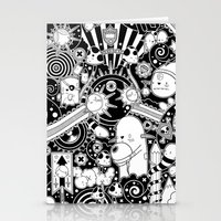 Clutch (Black & White version) Stationery Cards