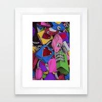 Love Locks Framed Art Print