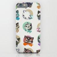 Cats & Bowties iPhone 6 Slim Case