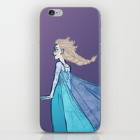 Let The Storm Rage On iPhone & iPod Skin
