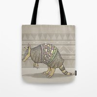 Abstract Armor Tote Bag