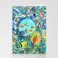 Fish Party Stationery Cards