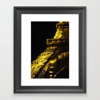Paris Lights Framed Art Print