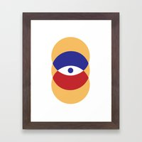 C I R | Eye Framed Art Print