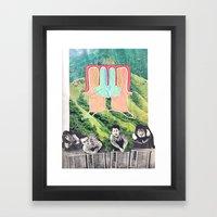 HEADS UBB Framed Art Print