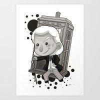 1st Doctor Art Print