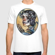 Queen of Indulgence  Mens Fitted Tee SMALL White