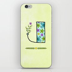 J j iPhone & iPod Skin