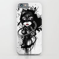 iPhone & iPod Case featuring Claw Lynx by Rouble Rust