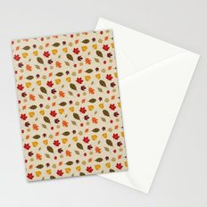 When The Leaves Fall Stationery Cards