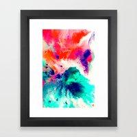 Plunge Framed Art Print