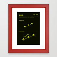 The LATERAL THINKING Project - Avance Framed Art Print