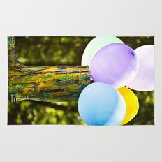Boot And Balloons Rug