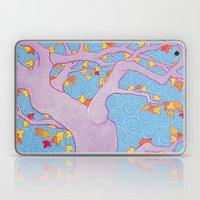 Autumn Spirals Laptop & iPad Skin