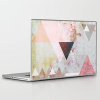 rose Laptop & iPad Skins featuring Graphic 3 by Mareike Böhmer Graphics and Photography