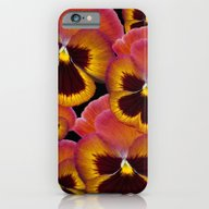 iPhone & iPod Case featuring Pansy Painted by Deborah Janke