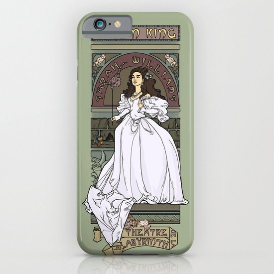 Theatre de la Labyrinth iPhone & iPod Case