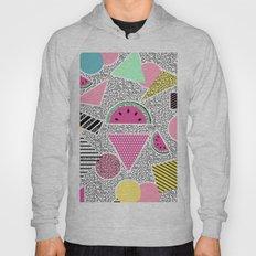 Modern geometric pattern Memphis patterns inspired Hoody