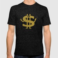 High Class Lifestyle Mens Fitted Tee Tri-Black SMALL