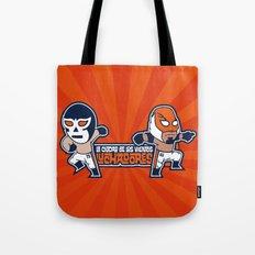 Los Luchadores Tote Bag