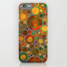 Abstract Circles Pattern 2 iPhone 6 Slim Case