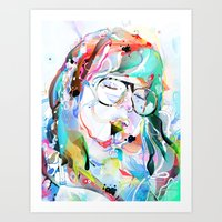 intoxicate 2 Art Print