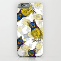 BAT CAT Pattern 1 iPhone 6 Slim Case