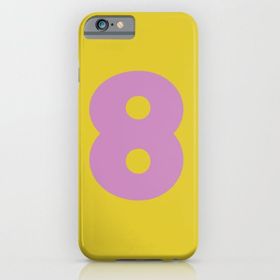 Number 8 iPhone & iPod Case