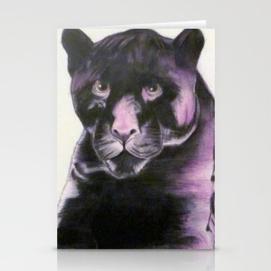 Black Panther Stationery Card