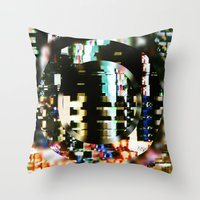 The Interference Throw Pillow