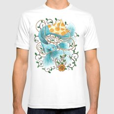 Underwater tales - the boat Mens Fitted Tee SMALL White