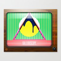Kaleidoscope TV Version … Canvas Print