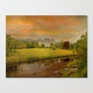 The Romantic Castle Canvas Print