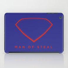 Man of Steal iPad Case