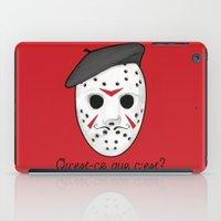 Psycho Killer iPad Case