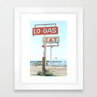 Town Pump Framed Art Print