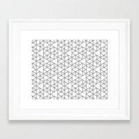 Karthuizer Grey & White … Framed Art Print